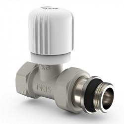 Радіаторний вентиль V&G ручного регулювання прямий