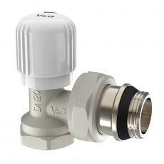 Радіаторний вентиль V&G ручного регулювання кутовий